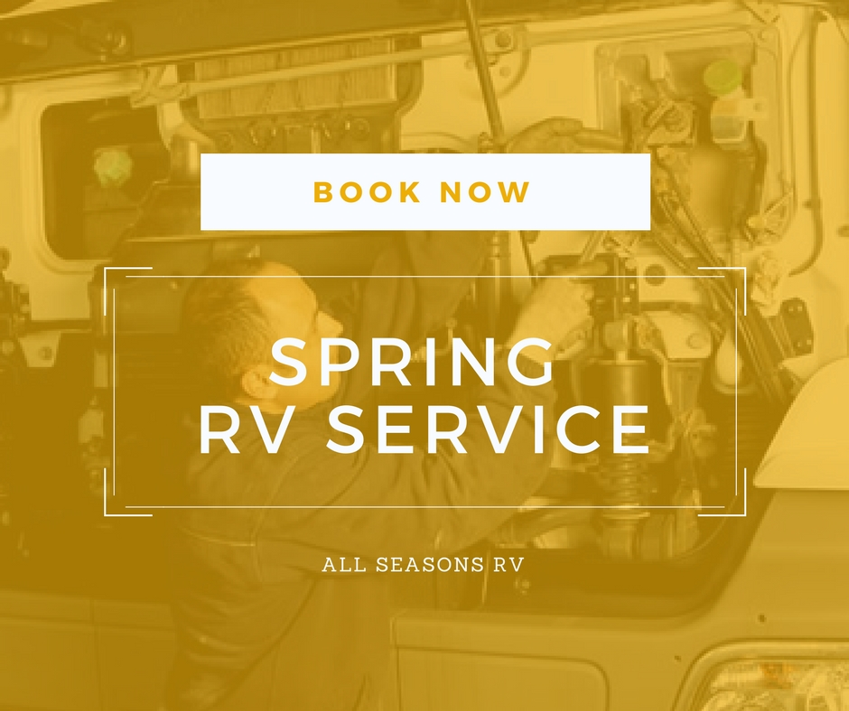 Spring RV Service at All Seasons RV