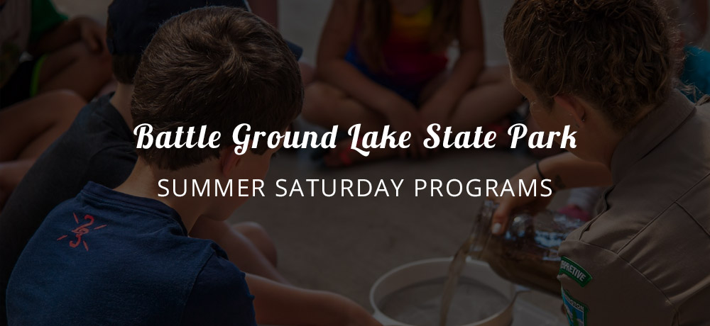 Battle Ground Lake State Park summer Saturday programs