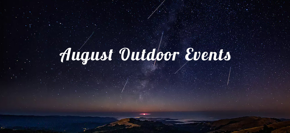 August Outdoor Events