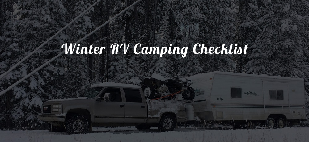 Winter RV Camping Checklist