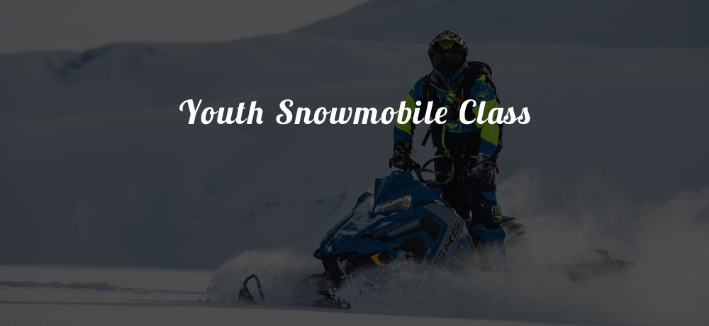 Youth Snowmobile Class