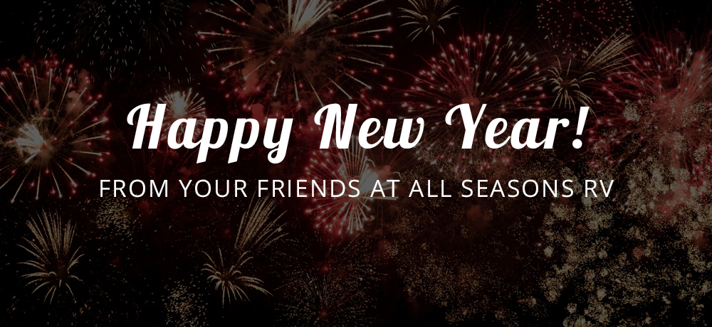 Happy New Year from All Seasons RV!