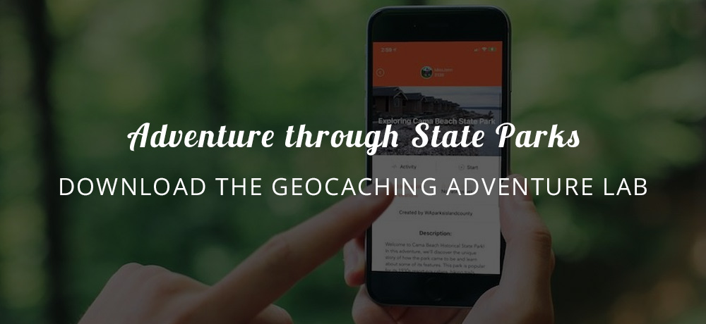 Adventure through State Parks with the Geocaching Adventure Lab App